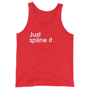 Just Spline It - Green Screen Apparel Tank Top