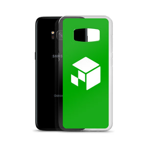 Green Screen Apparel Logo Voxel - Samsung Case (Green Screen)