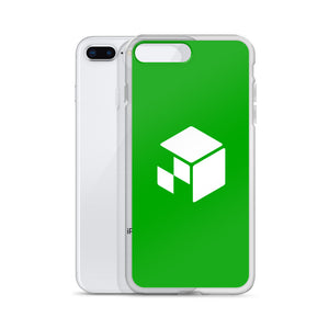 Green Screen Apparel Logo Voxel - iPhone Case (Green Screen)