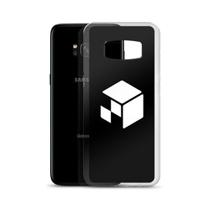 Green Screen Apparel Logo Voxel - Samsung Case (Black)