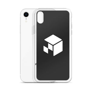 Green Screen Apparel Logo Voxel - iPhone Case (Blue Screen)