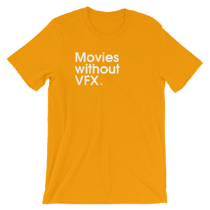 Movies Without VFX - Green Screen Apparel T-Shirt