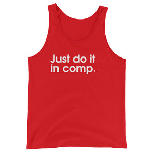 Just Do It In Comp - Green Screen Apparel Tank Top
