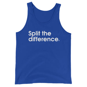 Split The Difference. - Green Screen Apparel Tank Top