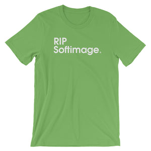 RIP Softimage - Green Screen Apparel T-Shirt