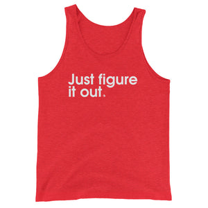Just Figure It Out - Green Screen Apparel Tank Top