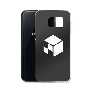 Green Screen Apparel Logo Voxel - Samsung Case (Matt Black)