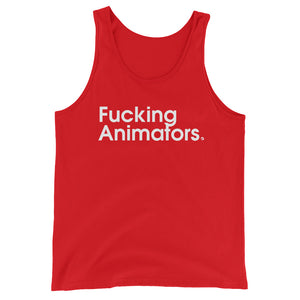 Fucking Animators - Green Screen Apparel Tank Top