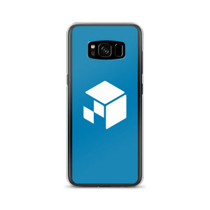 Green Screen Apparel Logo Voxel - Samsung Case (Blue Screen)