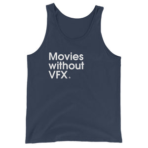 Movies Without VFX - Green Screen Apparel Tank Top
