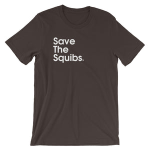 Save The Squibs. - Green Screen Apparel T-Shirt