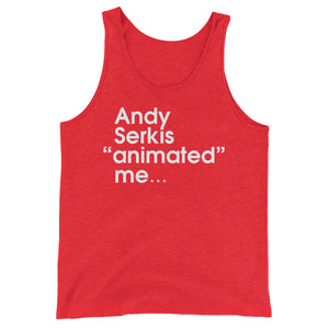 "Andy Serkis ""animated"" me... - Green Screen Apparel Tank Top"