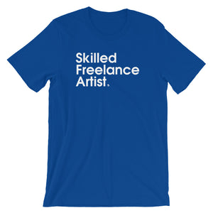 Skilled Freelance Artist - Green Screen Apparel T-Shirt