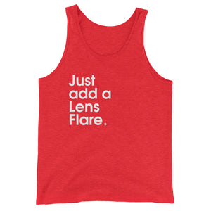 Just Add a Lens Flare - Green Screen Apparel Tank Top