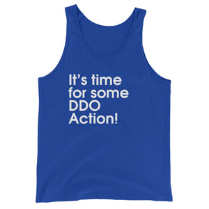 It's Time For some DDO Action! - Green Screen Apparel Tank Top