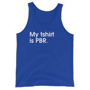 My Tshirt Is PRB - Green Screen Apparel Tank Top