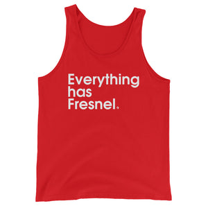 Everything Has Fresnel - Green Screen Apparel Tank Top