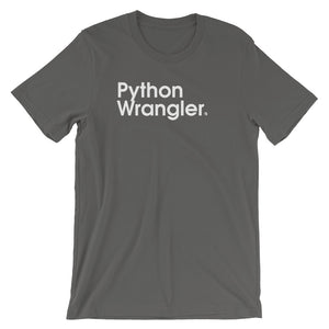 Python Wrangler. - Green Screen Apparel T-Shirt