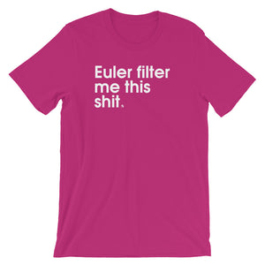 Euler Filter Me This Shit - Green Screen Apparel T-Shirt