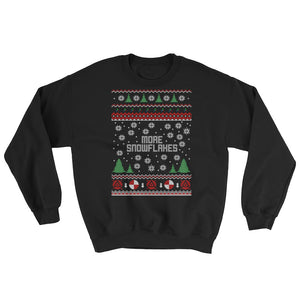 More Snowflakes - Green Screen Apparel Christmas Jumper/Sweater