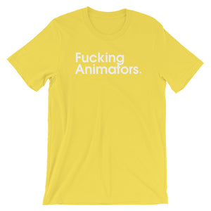 Fucking Animators - Green Screen Apparel T-Shirt