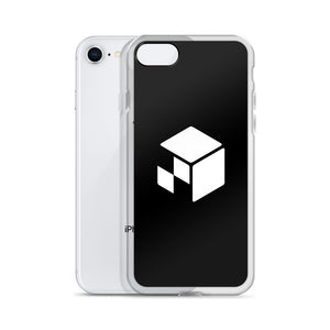 Green Screen Apparel Logo Voxel - iPhone Case (Jet Black)