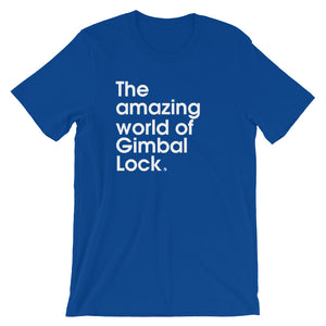 The Amazing World Of Gimbal Lock - Green Screen Apparel T-Shirt