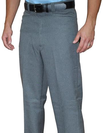 Smitty 381 Heather Flat Front Combo Pants with slash pockets