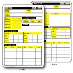 RefSmart double-sided football Info card - The Sports Loft
