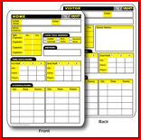 RefSmart Football Game Card - The Sports Loft
