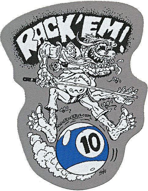Rack'Em 10 Ball - Patch