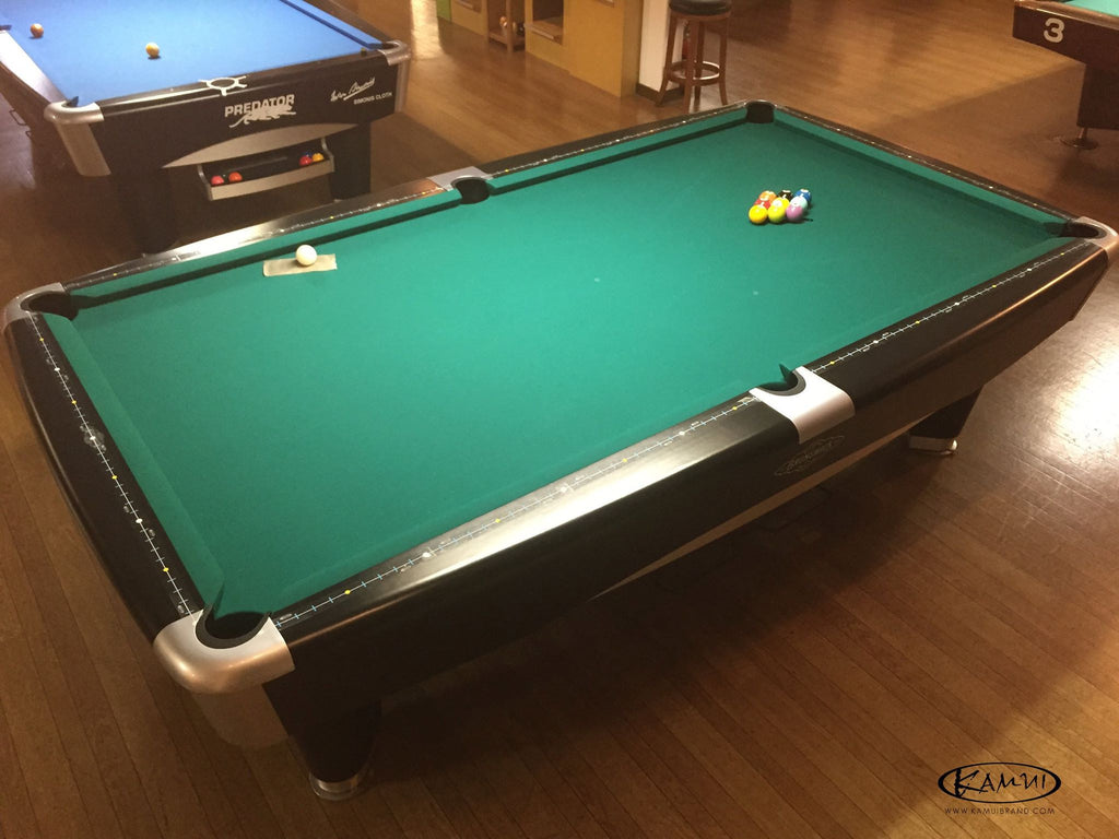 Kamui Diamond Slicer KAMUI USA Store - 9ft diamond pool table