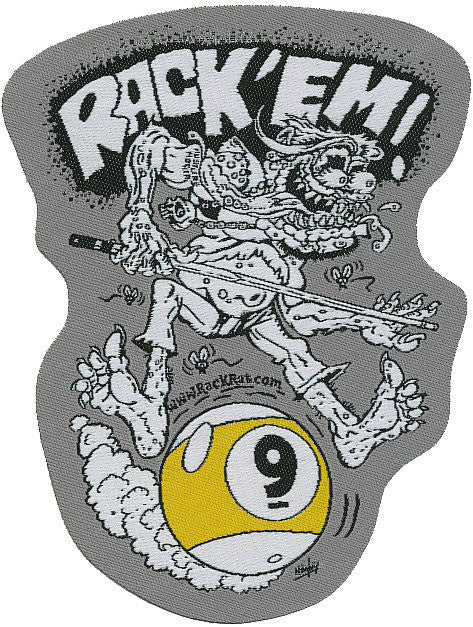 Rack'Em 9 Ball - Patch