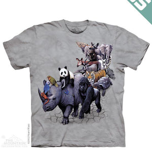 1079 Animal Parade Youth T-Shirt