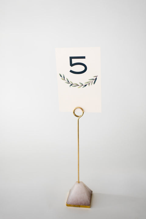 elliot table numbers // lola louie paperie - lola louie paperie, stationery - paper goods, stationery - wedding stationery, stationery - wedding invitations, stationery - thank you cards, stationery - bridesmaid cards