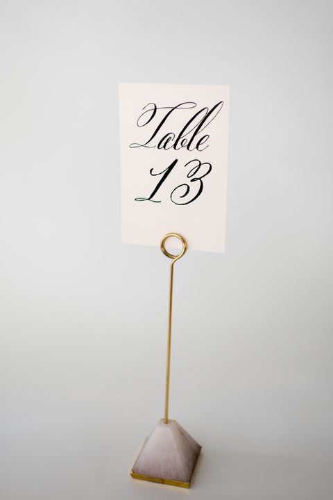 hazel table numbers // lola louie paperie - lola louie paperie, stationery - paper goods, stationery - wedding stationery, stationery - wedding invitations, stationery - thank you cards, stationery - bridesmaid cards