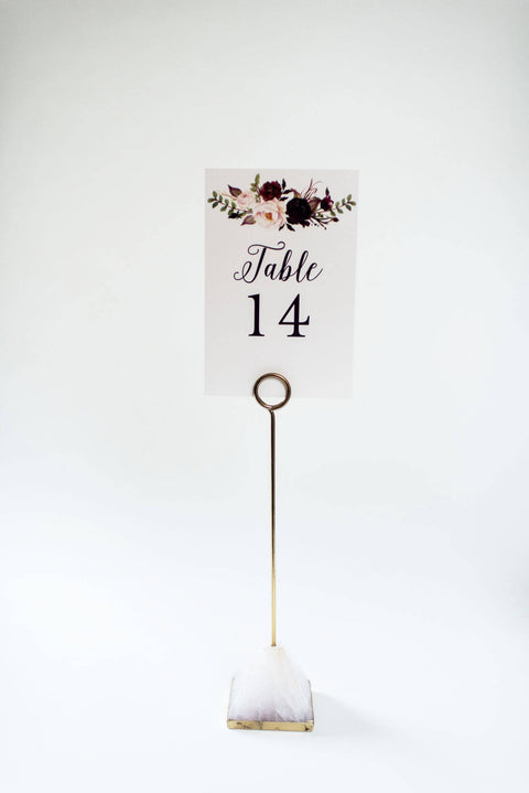 isabella table numbers // lola louie paperie - lola louie paperie, stationery - paper goods, stationery - wedding stationery, stationery - wedding invitations, stationery - thank you cards, stationery - bridesmaid cards