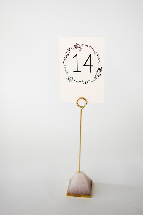 ruby table numbers // lola louie paperie - lola louie paperie, stationery - paper goods, stationery - wedding stationery, stationery - wedding invitations, stationery - thank you cards, stationery - bridesmaid cards