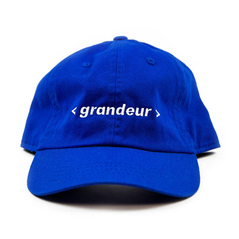 Grandeur Blue Bar Polo Hat