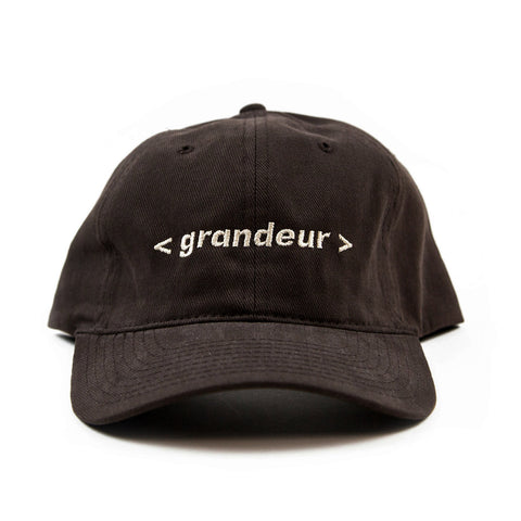 Grandeur Brown Bar Logo Polo Hat