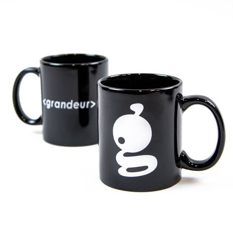 Grandeur Black Bar Logo Coffee Mug