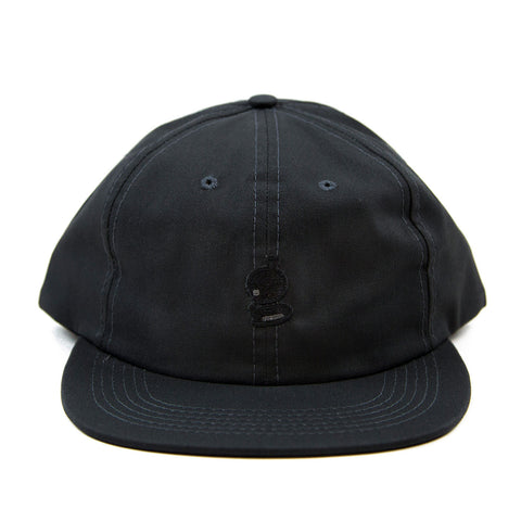 Grandeur 'g' Logo Non Structure Charcoal SnapBack  Hat