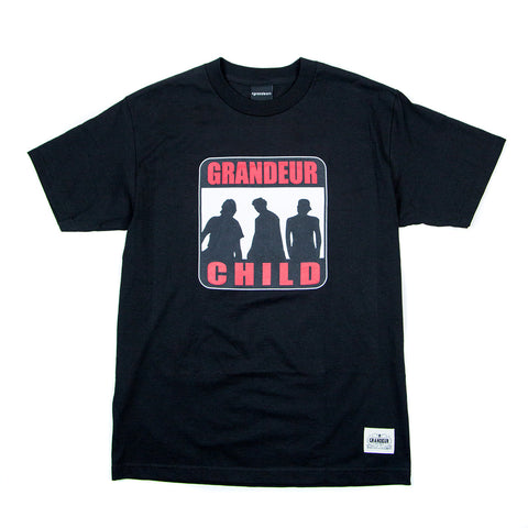 Grandeur Child Black T-Shirt