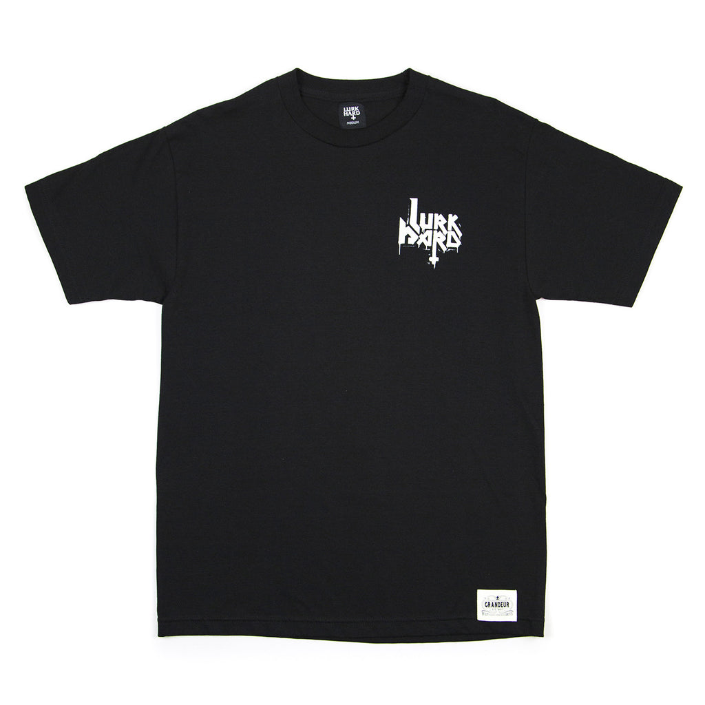 Lurkhard x Grandeur Collab Black T-Shirt