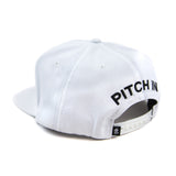 Grandeur Pitch In Structured White SnapBack  Hat