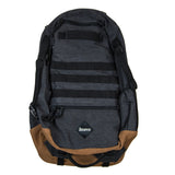 Bravo Foxtrot Block II Black Canvas Backpack