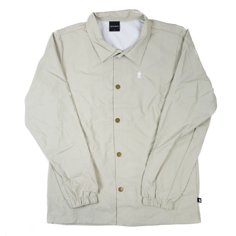 Grandeur Beige Coaches Jacket