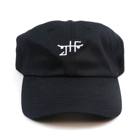 Just Have Fun Black Classic Strapback Polo Hat