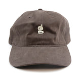 Grandeur 'g' Logo Brown Polo Hat