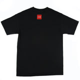 Chocolate x Grandeur Black and Red Collab T-Shirt